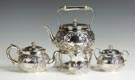 Tiffany & Co. 4 Pc. Diminutive Sterling Silver Tea Set