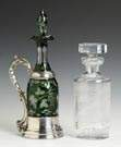 Glass Ewer & Decanter