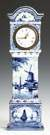 Delft Miniature Grandfather Clock