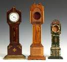 Miniature Grandfather Clocks and Watch Hutches