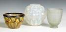 3 Art Glass Vases