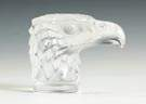 Lalique Frosted Glass Eagle Head Mascot
