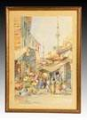 J. Pavlikevitch (Russian, 19th/20th Cent.) Middle Eastern street scene