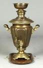 19th Cent. Brass Russian Samovar