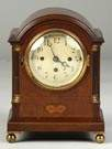 Inlaid Mahogany Bracket Clock