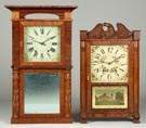Column & Cornice Top Shelf Clocks