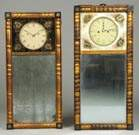 Striking Mirror Clocks