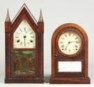 Steeple Shelf & Round Top Cottage Clocks