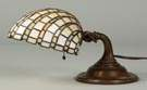 Duffner & Kimberly Leaded Glass Piano Lamp