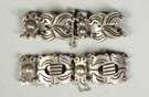 2 Mexican Sterling Silver Bracelets