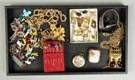 Group of Misc. Gold, Silver & Costume Jewelry