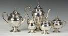 Gorham Sterling Silver 5 Pc. Tea Set