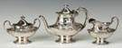 Reed & Barton 3-Pc. Sterling Silver Tea Set