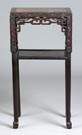 Chinese Carved Hardwood Stand