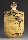 Large Japanese Ivory Snuff Bottle for the Chinese Trade