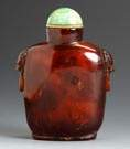 Amber Snuff Bottle