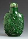 Spinach Jade Snuff Bottle
