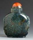 Moss Agate Snuff Bottle