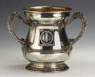 Gorham Sterling Silver 3 Handled Loving Cup