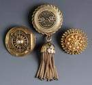 Three 18K Gold Brooches