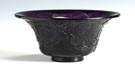 Chinese Peking Amethyst  Glass Bowl