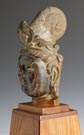 Chinese Marble Head of a Bodhisattva