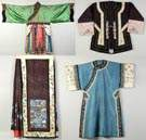 Chinese Silk Skirt, Two Jackets & A Robe