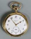 Zentler & Co., Geneva, 18K Gold Pocket Watch