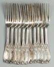 11 Coin Silver Forks