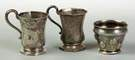 Three Coin Silver Children's Cups