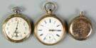 3 14K Gold Pocket Watches