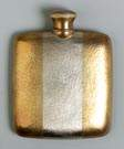 14K Gold Flask