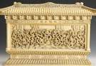 Finely Carved Ivory Dragon Wall
