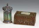 Chinese Tea Caddy & Box