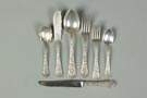 Gorham Sterling Silver Flatware - Cluny Pattern
