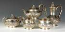 Dominick & Haff 5 Pc. Sterling Silver Tea Set