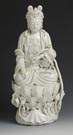 Blanc De Chine Figure of Quan Yin Figure