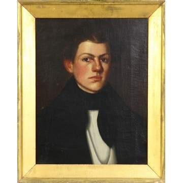 Early 19th cent. Portrait of a young boy