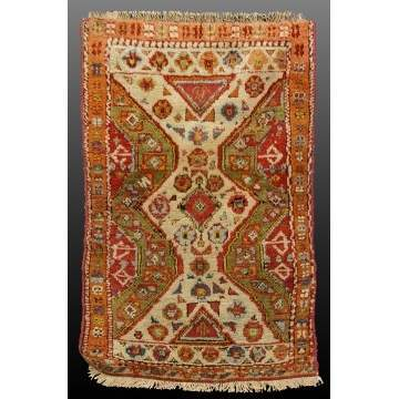 2 Small Turkish Rugs