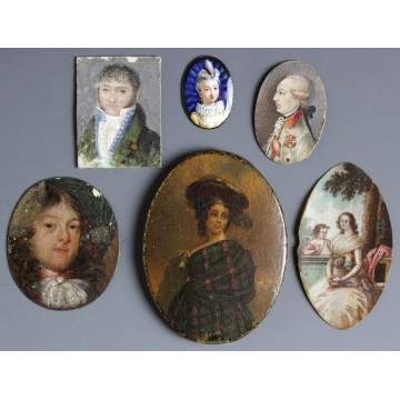Group of Miniature Paintings