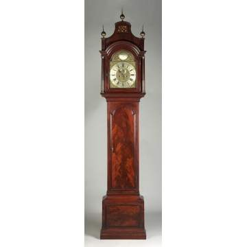 Jabez Stock, London, Tall Case Clock