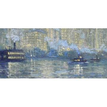 Jonas Lie (American, 1880-1940) Manhattan