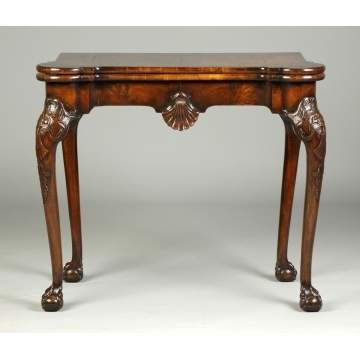 Fine Mid-18th Cent. Irish Card Table