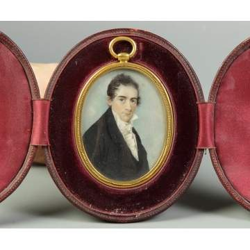 Early 19th Cent. Miniature on Ivory