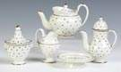 Five Piece Children's Pearlware Tea Set