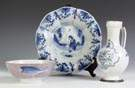 Three Pieces Early Delft