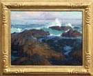 Edgar Payne (California, 1883-1947) Laguna Beach area seascape