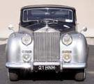 1954 Rolls Royce Silver Wraith James Young Sports Saloon