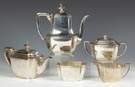 Tiffany & Co. Makers Sterling Silver 5-Piece Tea & Coffee Service