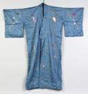 Chinese Silk Robe together with 2 Neck Pieces
